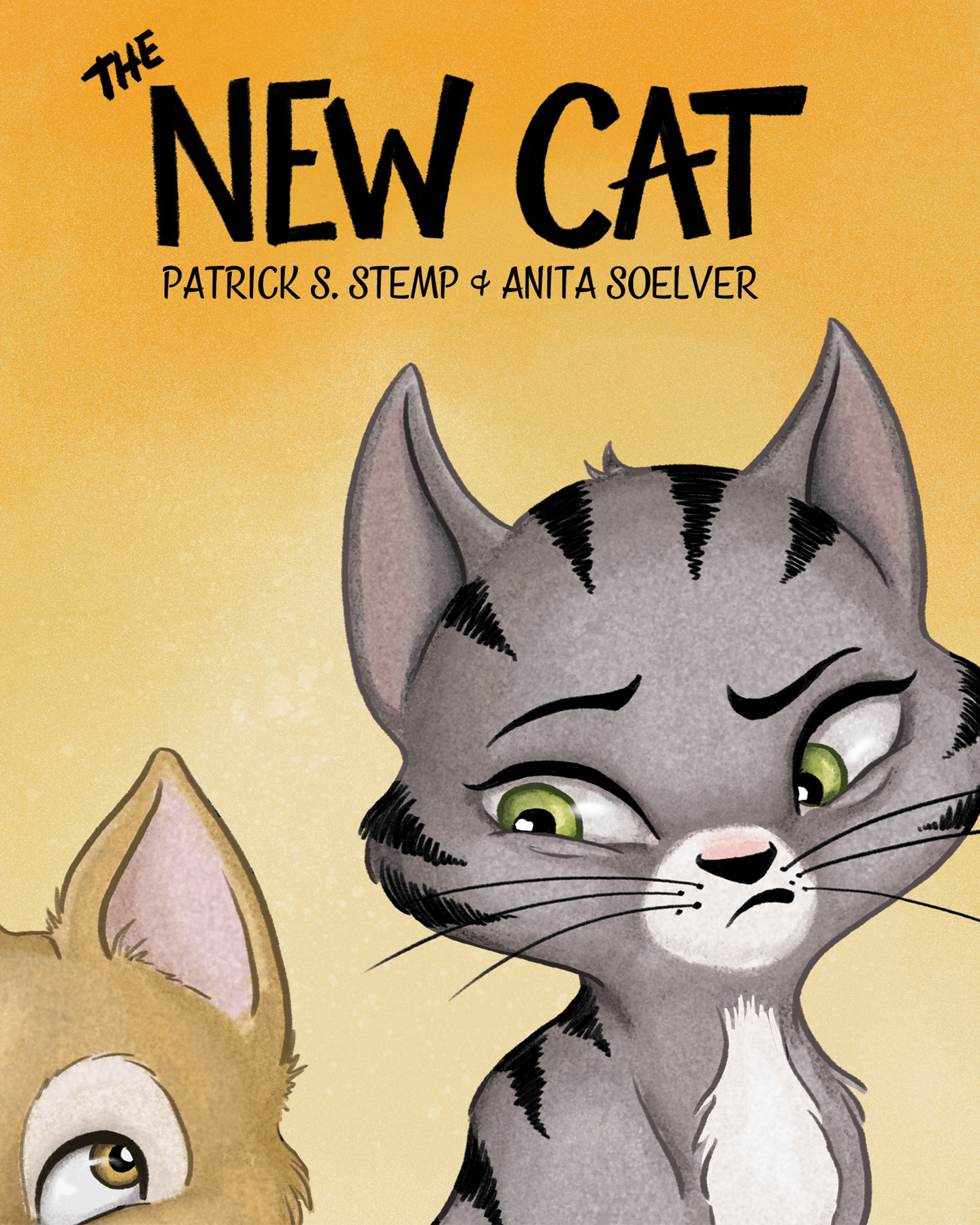 The New Cat - a children's book by Patrick Stemp & Anita Soelver