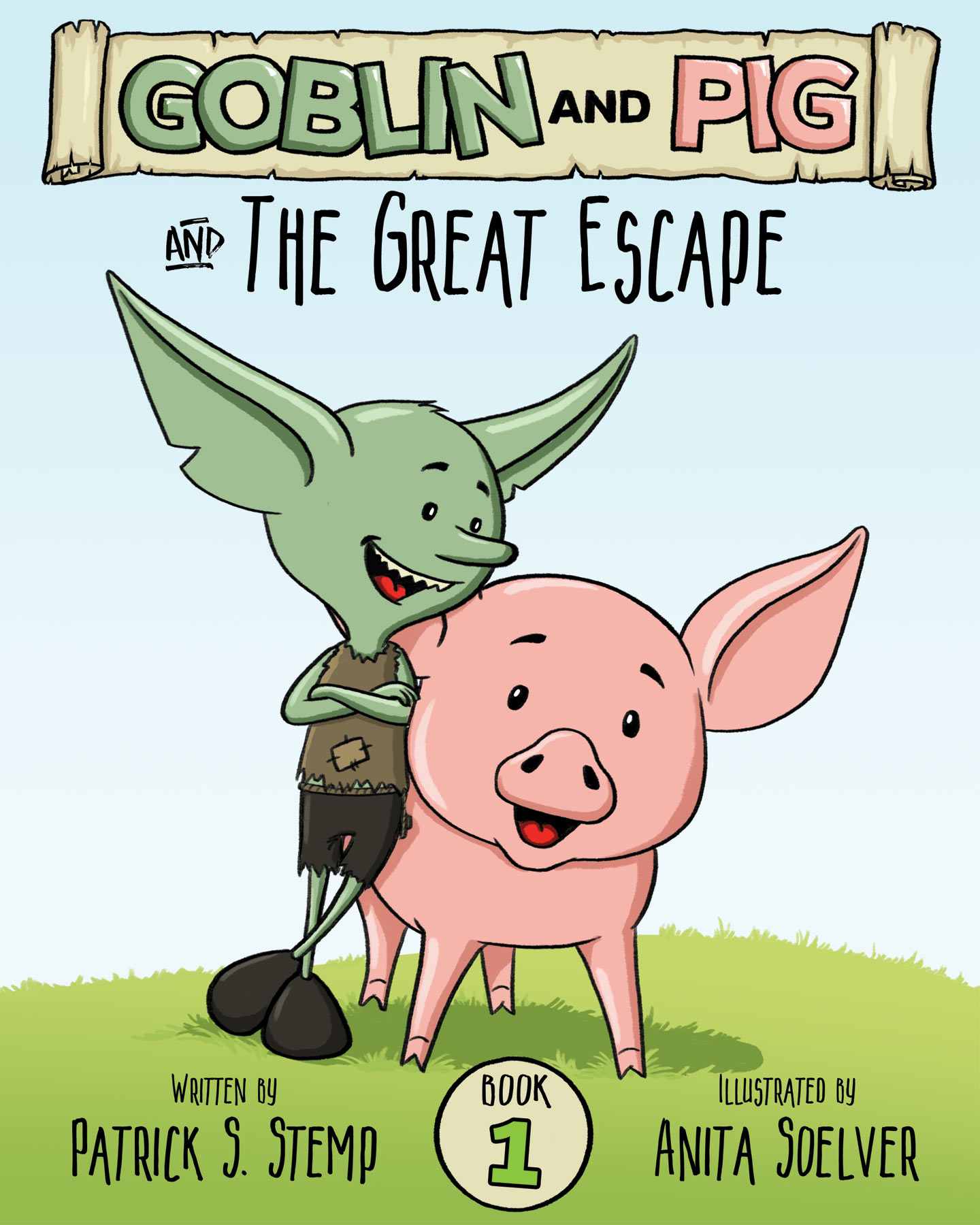 The Great Escape - a children's book by Patrick Stemp & Anita Soelver